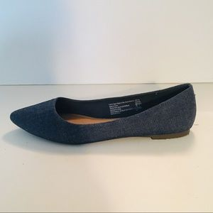 Christian Siriano Shoes - Jean Blue Pointed Flats